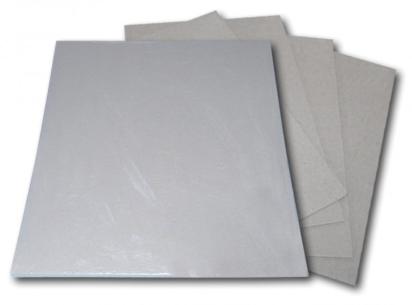 Graupappe 1,4 mm stark, 10 Platten