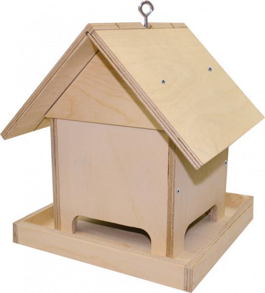 Bastelset-Vogelfütterhaus natur
