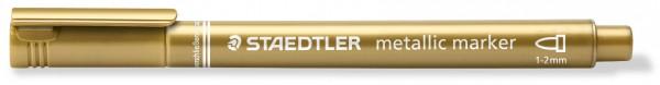 Metallic Marker gold