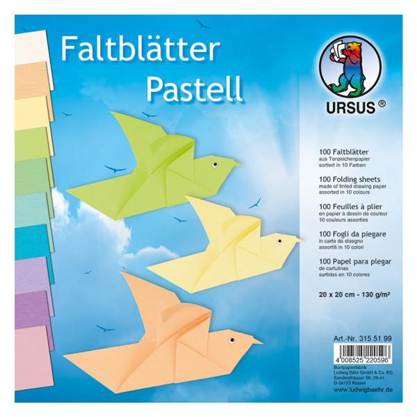 Tonpapier Tonzeichenpapier Papier basteln 130g 50x70cm 100 Blatt UNI