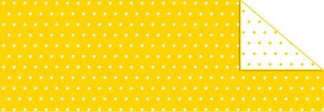 """Pünktchen-Fotokarton """"mini"""" gelb"""