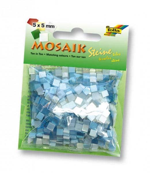 Mosaiksteine Ton in Ton Mix weiß
