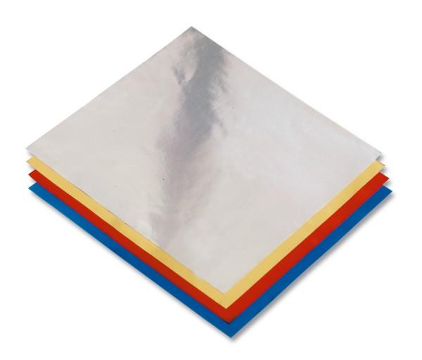 Faltblätter Alufolie 10x10cm,