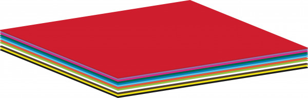 Bastelpapier-Sortiment 250 Bogen