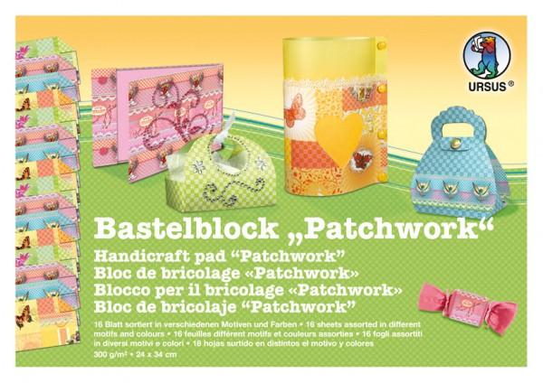 Bastelblock Patchwork 24x34cm,