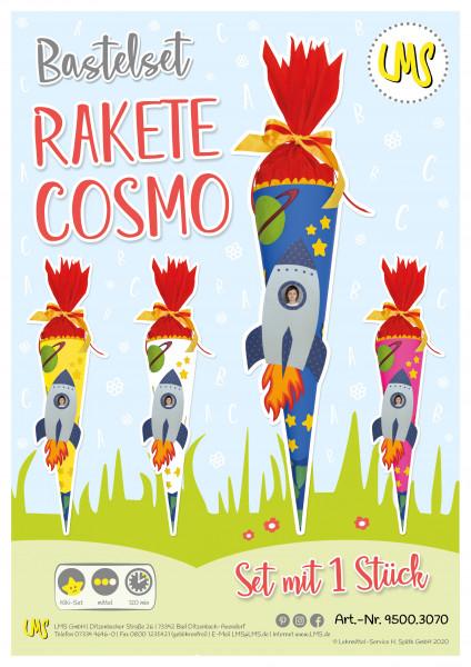 """Wunsch-Schultüte """"Rakete Cosmo"""""""