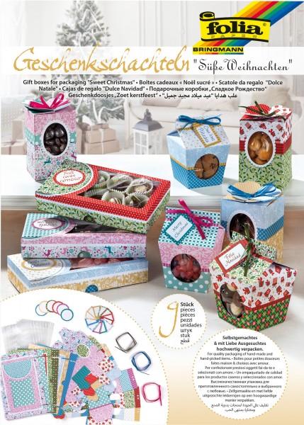 Geschenk-Schachteln:Süßes Verpacken