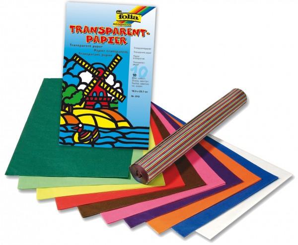 Bastelmappe Transparentpapier