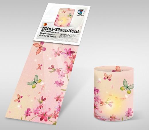 """Mini-Tischlicht """"Schmetterlinge 1"""""""