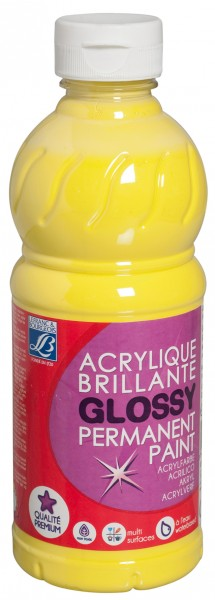 Glossy-glänzende Acrylfarbe