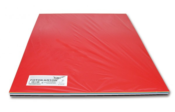 Fotokarton 300 g/m², 50x70cm, 100 Bogen