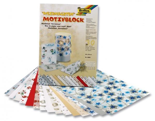 """Motivblock """"Weihnachten"""""""