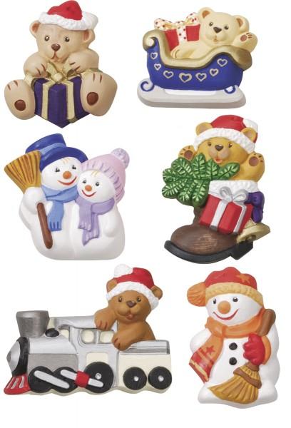 Gießform Bären-Weihnachten