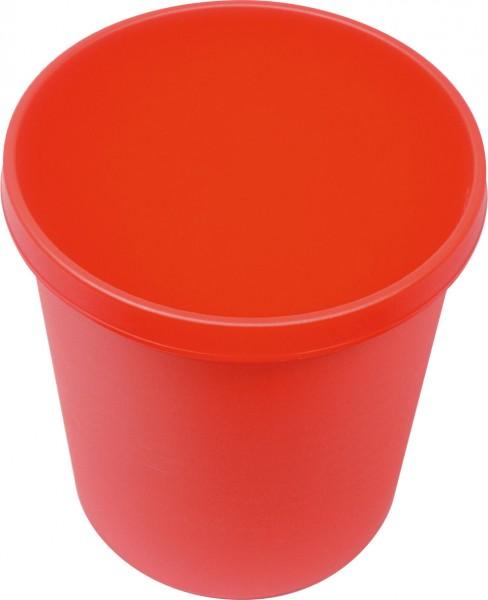 Papierkorb 18 Liter, rot