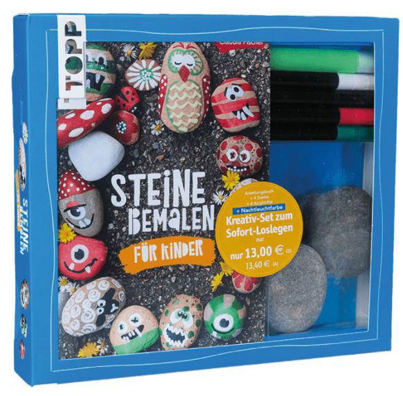 Kreativ-Set Steine bemalen für