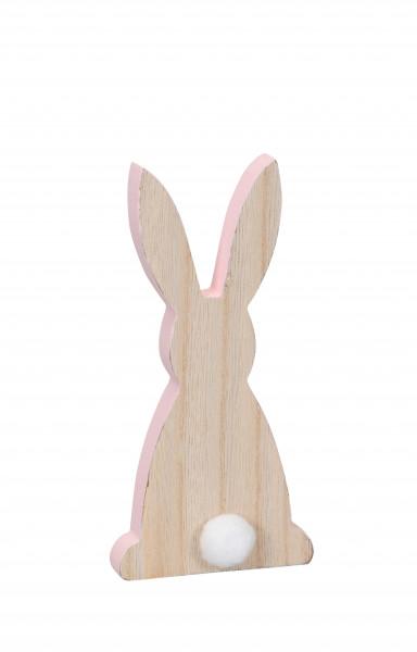 Hase aus Holz 8,5x4x18 cm