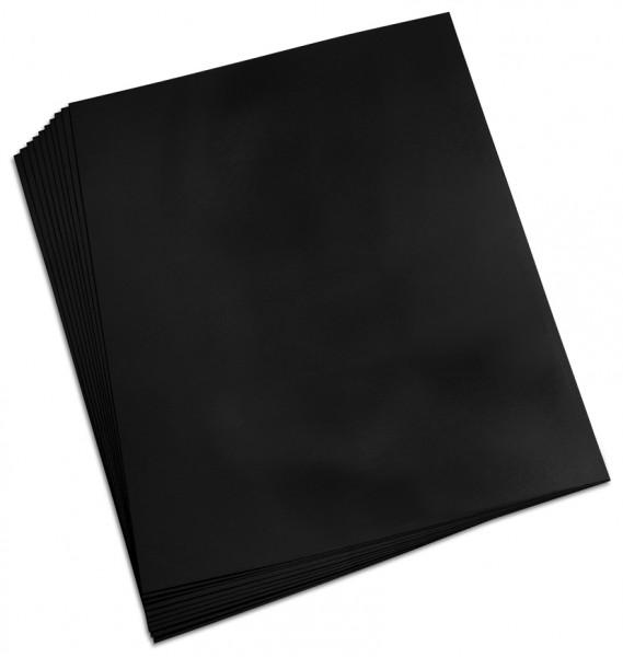 Tonpapier A4/100 Blatt schwarz