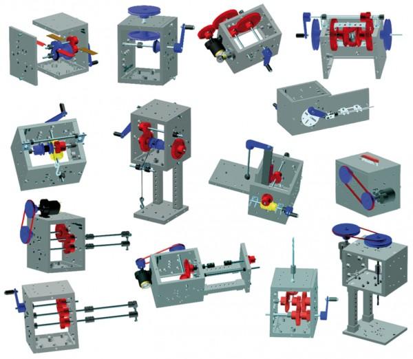 Technischer Baukasten Maschinen und