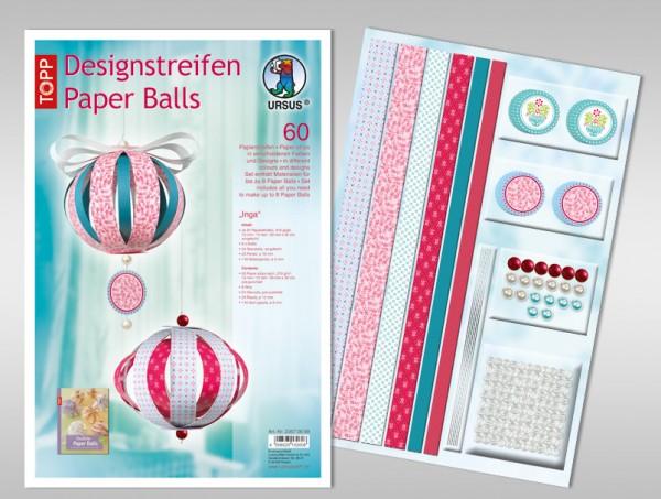 Paper Balls Designstreifen