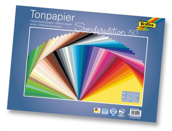 Tonpapier 35x50 cm, 130g/m²