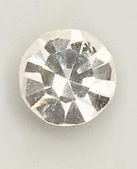 100 Stück Halbperlen silber glänzend Ø5mm  Schmucksteine zum Aufkleben
