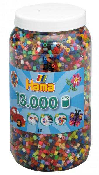 Hama Bügelperlen Midi 13.000 Stück