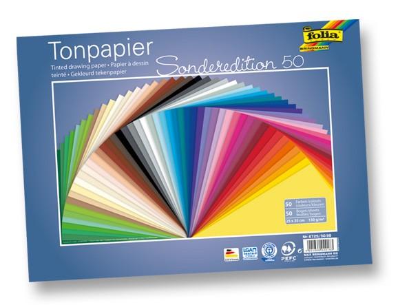 Tonpapier 25x35 cm, 130g/m²